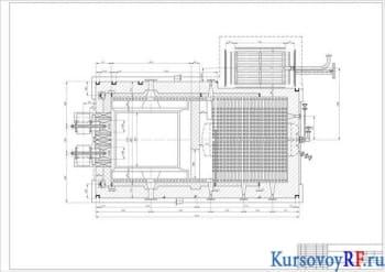 Курсовое проектирование парового котельного агрегата двухбарабанного водотрубного реконструированного