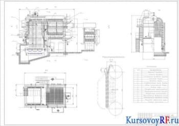 Агрегаты котельные в отопительных, производственно-отопительных и производственных котельных