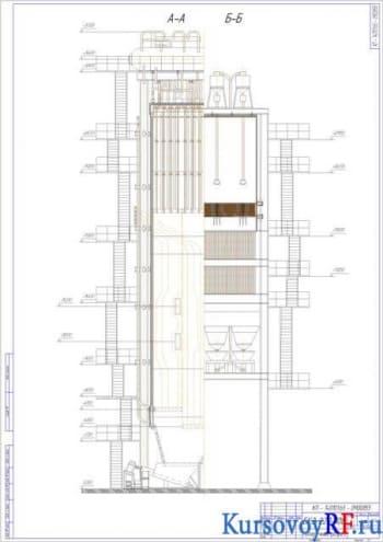 Расчетный курсовой проект котла парового БКЗ-220-100