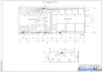 Курсовая разработка системы электроснабжения участка цеха