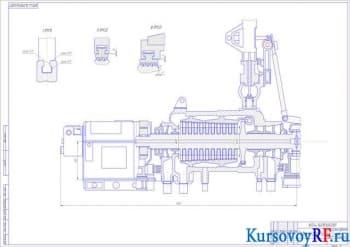 Расчетный курсовой проект цилиндра конденсационной турбины