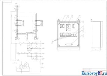 Разработка курсового проекта схемы электропривода