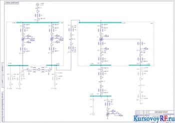 Разработка курсового проекта электроснабжения
