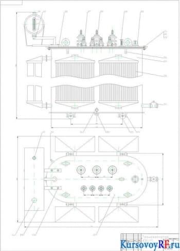 Курсовая разработка силового трансформатора