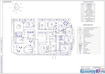 Курсовое проектирование СЭС машиностроительного комплекса