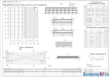 Проектирование конструкций каркасного многоэтажного здания