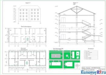 Модернизация жилого сооружения за счёт имеющейся площади
