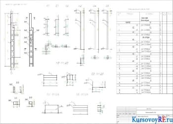 Создание железобетонных сборных элементов каркаса промышленного одноэтажного корпуса
