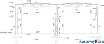 Расчет и конструирование несущих железобетонных конструкций одноэтажного промышленного здания
