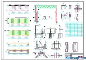 Разработка курсового проекта одноэтажного промышленного корпуса
