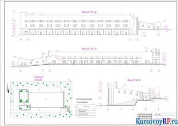 Проектирование трехэтажного здания инженерно-лабораторного корпуса