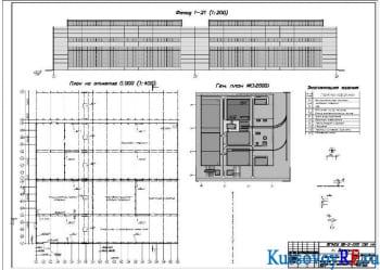 Курсовое проектирование здания литейного цеха завода