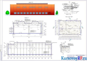 Проектирование кузнечно-прессовочного цеха в одноэтажном производственном здании