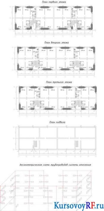 Курсовой проект техническое оборудование интерьера