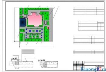 Курсовое проектирование клуба с залом на 200 мест для сельской местности
