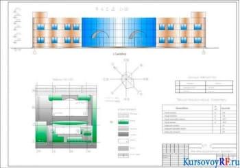 Курсовое проектирование двухэтажного здания железнодорожного вокзала