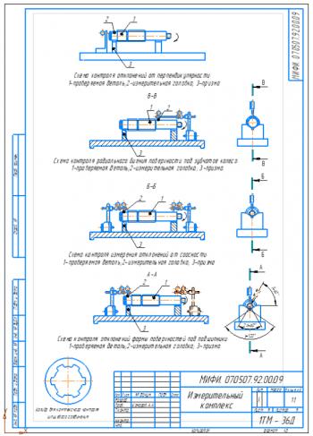 Проектирование и исследование контроля зубчатых колес с разработкой измерительного комплекса