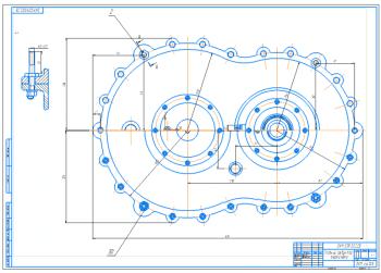 Проект главного двухступенчатого цилиндрического редуктора вертолета СГАУ-1