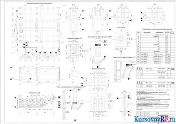 Проектирование фундаментов и основания для промышленного цеха и АБК