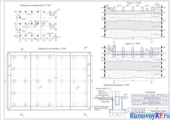 Разработка фундамента здания промышленного предназначения