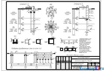 Проектирование фундаментов химического корпуса