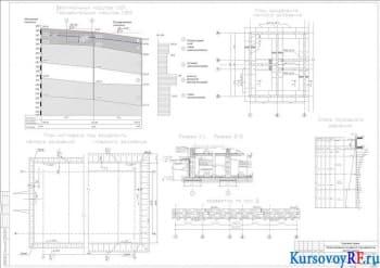 Разработка фундаментов под 9-этажное сооружение в открытом котловане в г. Березняки