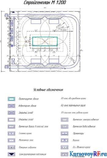 Создание календарного плана и стройгенплана на строительство жилого 5-ти этажного сооружения в составе ППР