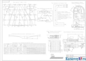 Курсовое определение объёмов земляных работ при проектировании котлована