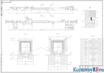 Проектирование и расчет печи туннельной для производства керамического кирпича