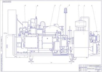 Проект технического перевооружения участка разлива молока на молочном заводе с применением разливно-упаковочного автомата марки ЕLОРАК QММ – 4500