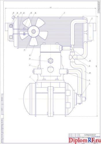 Совершенствование двухтактного двигателя карбюраторного типа
