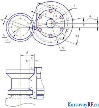 Курсовая разработка режущего инструмента с чертежами