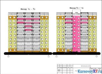 Курсовое проектирование строительства жилого сооружения с обоснованием конструктивного решения