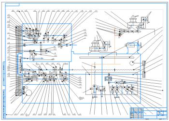 Модернизация токарно-винторезного станка 16К20