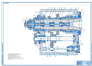 Проект модуля вращательного движения для привода главного движения фрезерного станка с ЧПУ с системой контроля скорости вращения