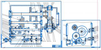 Проект главного привода движения для универсального вертикально-фрезерного станка