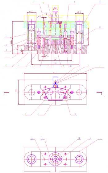 Разработка конструкции штампа для пробивки отверстий в детали Сектор
