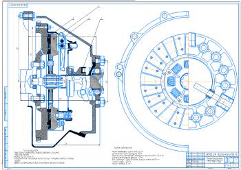 Проектирование и расчет фрикционного однодискового сцепления ЗИЛ-ММЗ-554