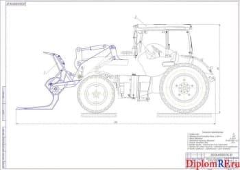 Разработка клещевого захвата для установки на трактор ЛТЗ-95Б