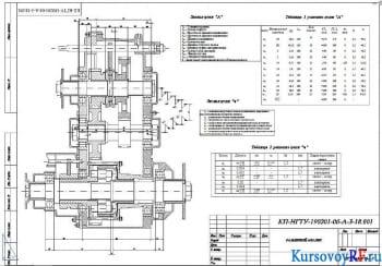 Создание и расчет раздаточной коробки передач на примере автомобиля марки ГАЗ-66
