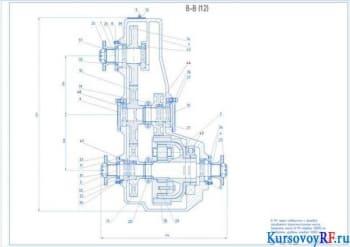 Расчет и курсовая разработка раздаточной коробки для ГАЗ