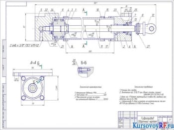 Применение и конструкция гидравлического привода