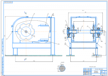 Расчет и проектирование скребкового конвейера для транспортирования формовочной земли