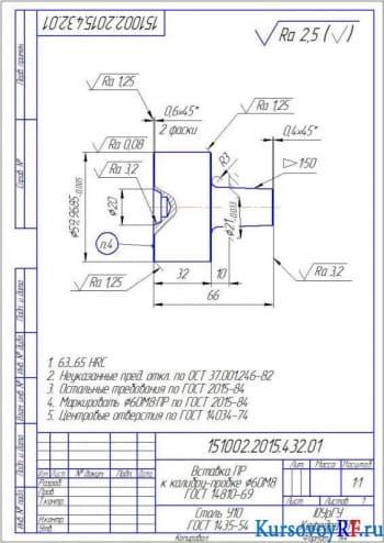 Расчет параметров изделий и их контроль