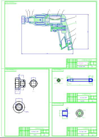 Разработка технологического процесса капитального ремонта газораспределительного механизма (ГРМ) КамАЗ-53212 с разработкой гайковерта С-501