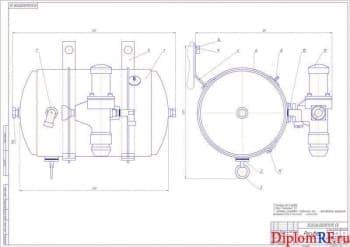 Разработка пневматической системы управления тормозами прицепа к трактору ЛТЗ-155