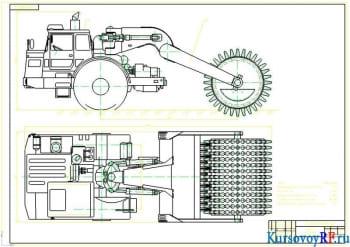 Курсовая разработка катка кулачкового с чертежами