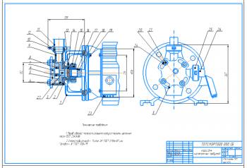 Ремонт и восстановление шейки вала шестеренчатого насоса НРМ-2