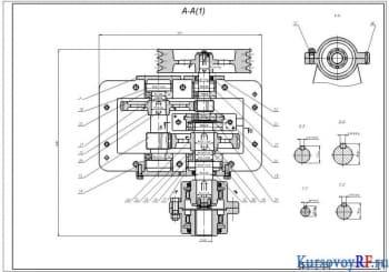 Курсовое проектирование приводной станции к элеватору полочному