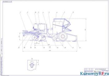 Разработка конструкции картофелепосадочной машины с расчетом основных параметров